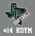 KPHS Softball Decals